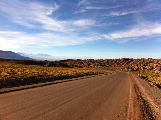 Yvonderweg - Chili week 1 - San Pedro de Atacama - Ochtendgloren San Pedro