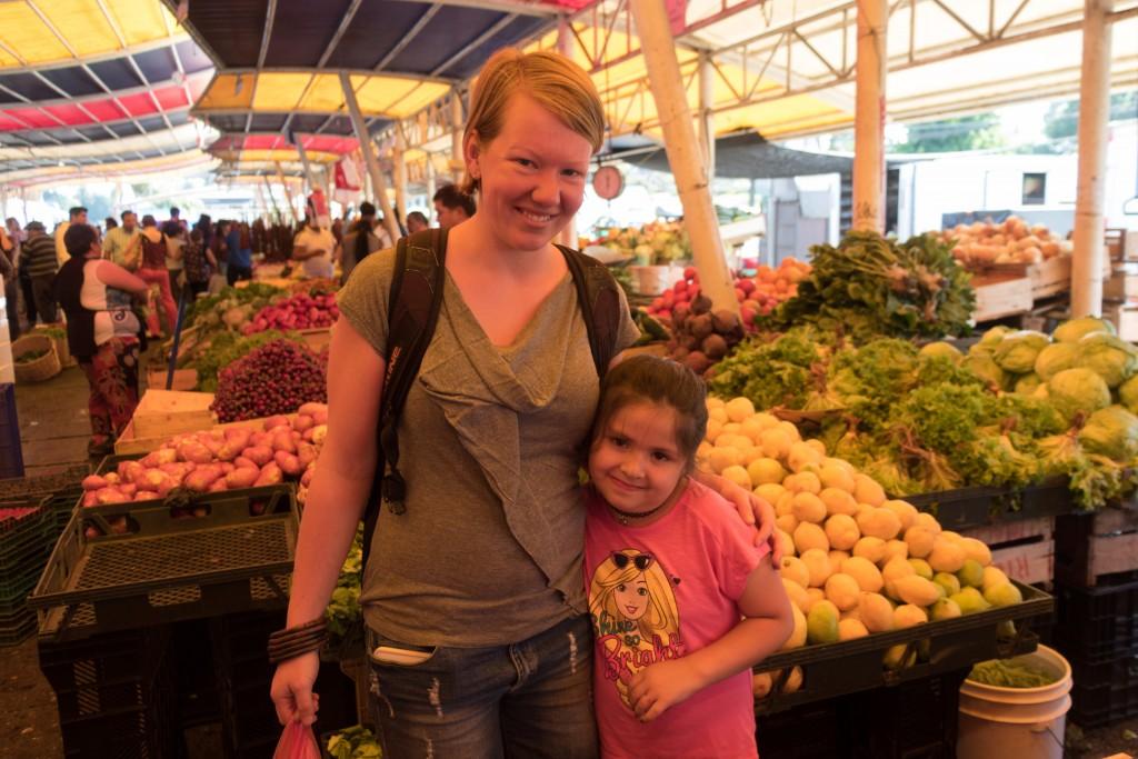 De markt in Valdivia
