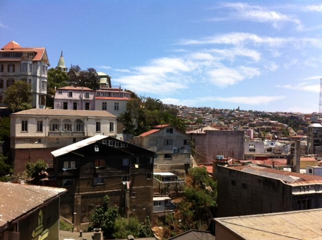 Uitzicht vanuit Restaurant Marteva bij dag...