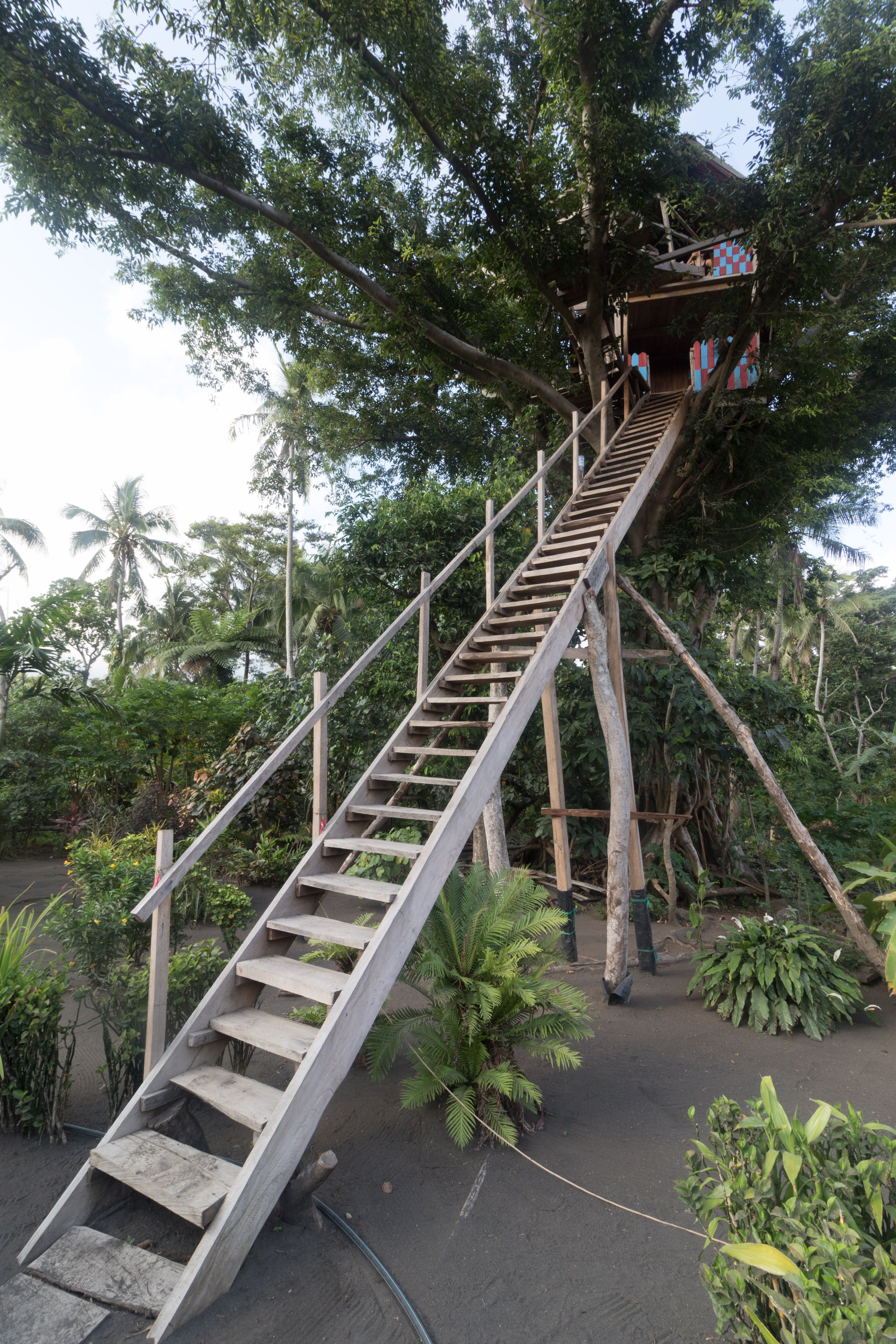 Yvonderweg - Avontuurlijk Tanna - Boomhut Yasur View Lodge