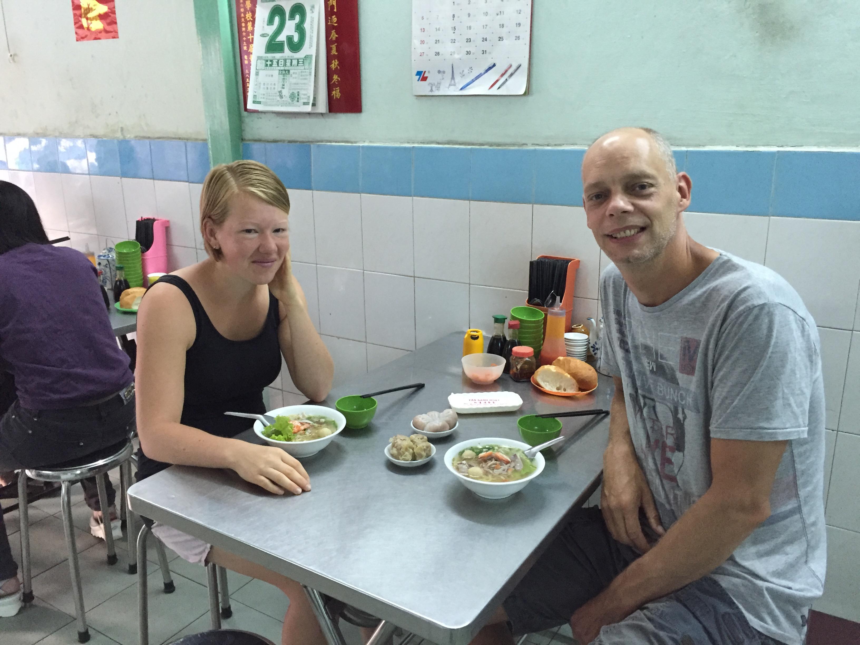 Yvonderweg - Hallo Ho Chi Minh! - Vietnamees ontbijtrestaurantje
