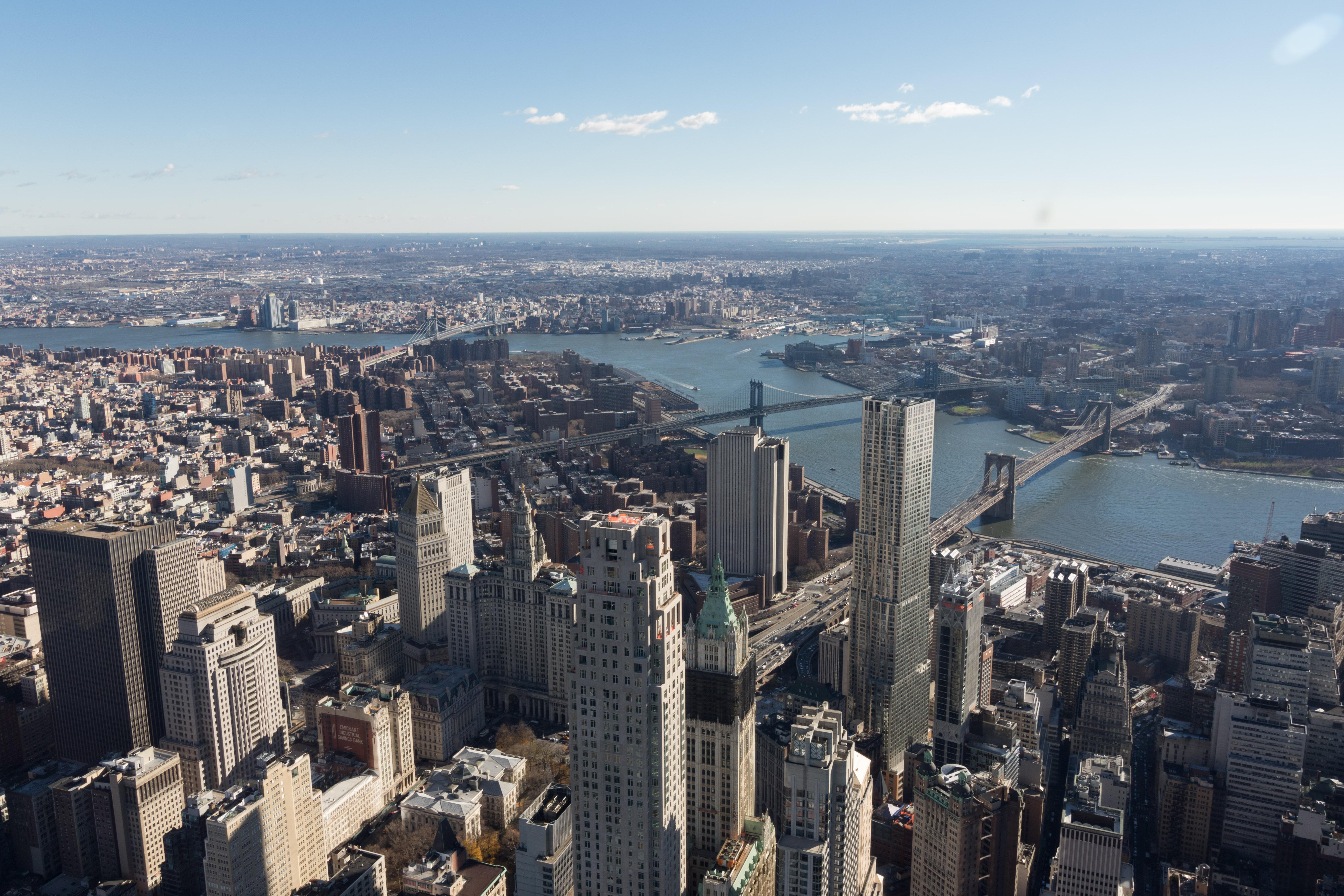 Hier in New York werd onze horizon letterlijk verbreed!