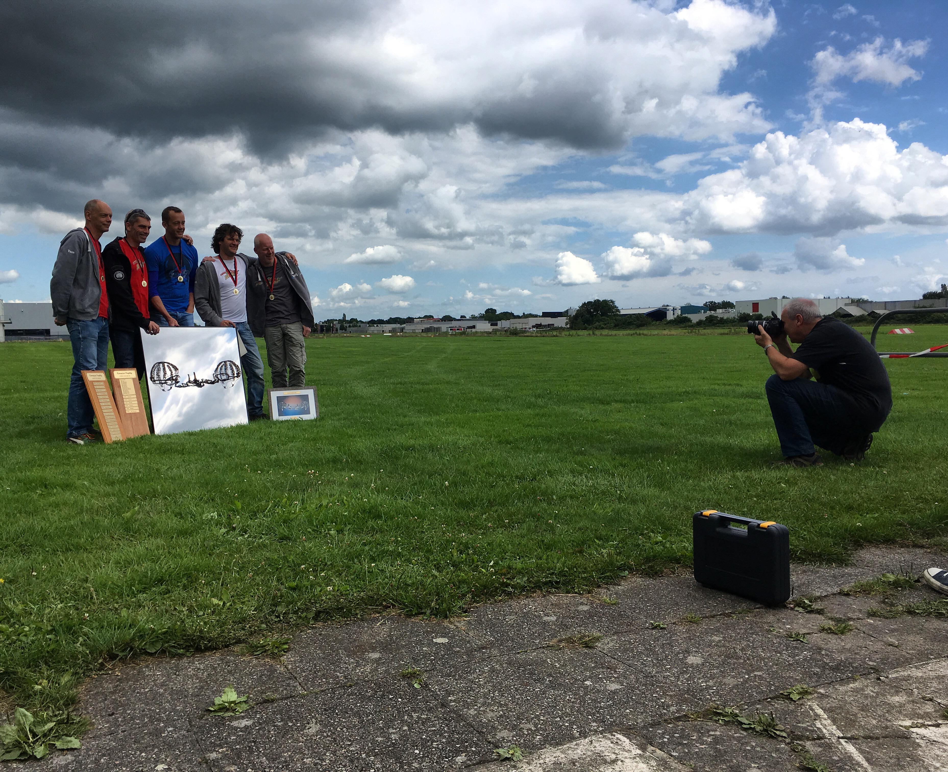 Yvonderweg - Stil - Paraches vouwen voor Cool Runnings op de Tomscat in Hoogeveen