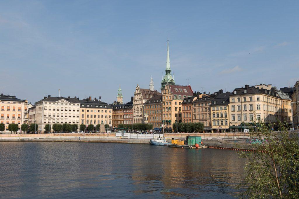 Stadsaanzicht Stockholm.