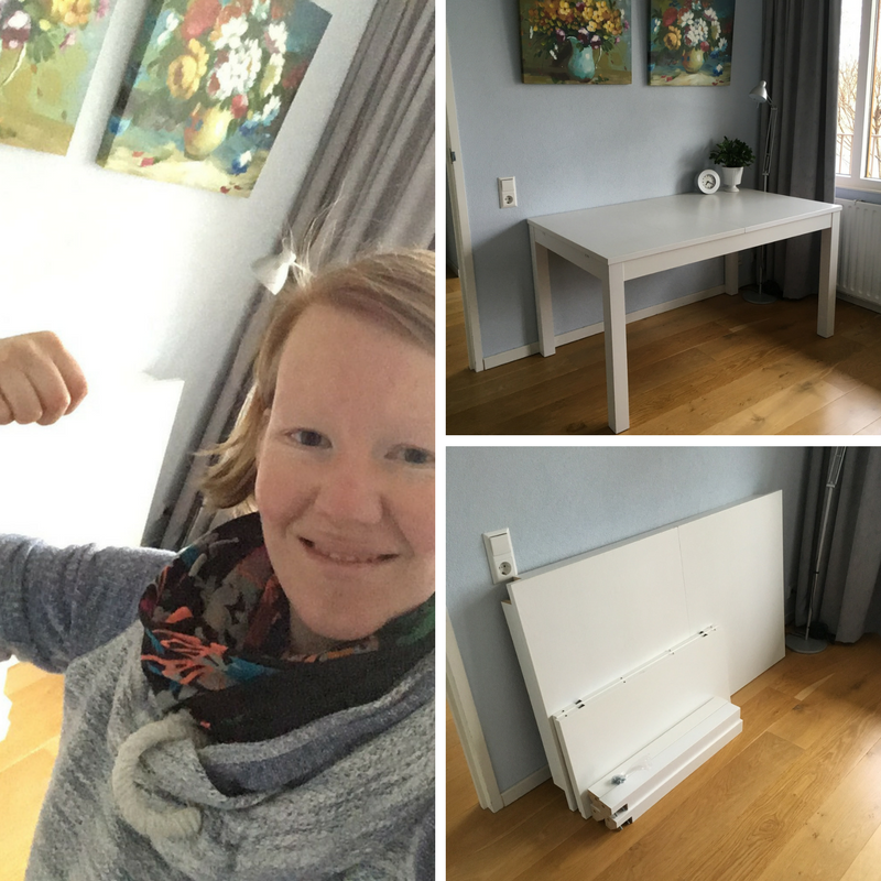 Project kinderkamer: de tafel is verkocht!