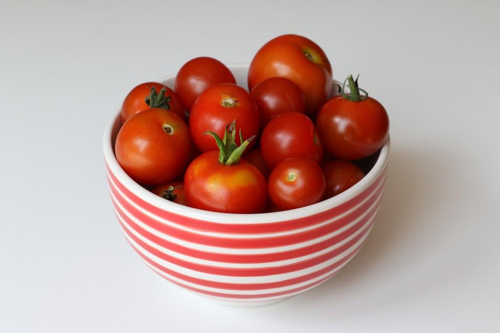 Tomaten uit de moestuin