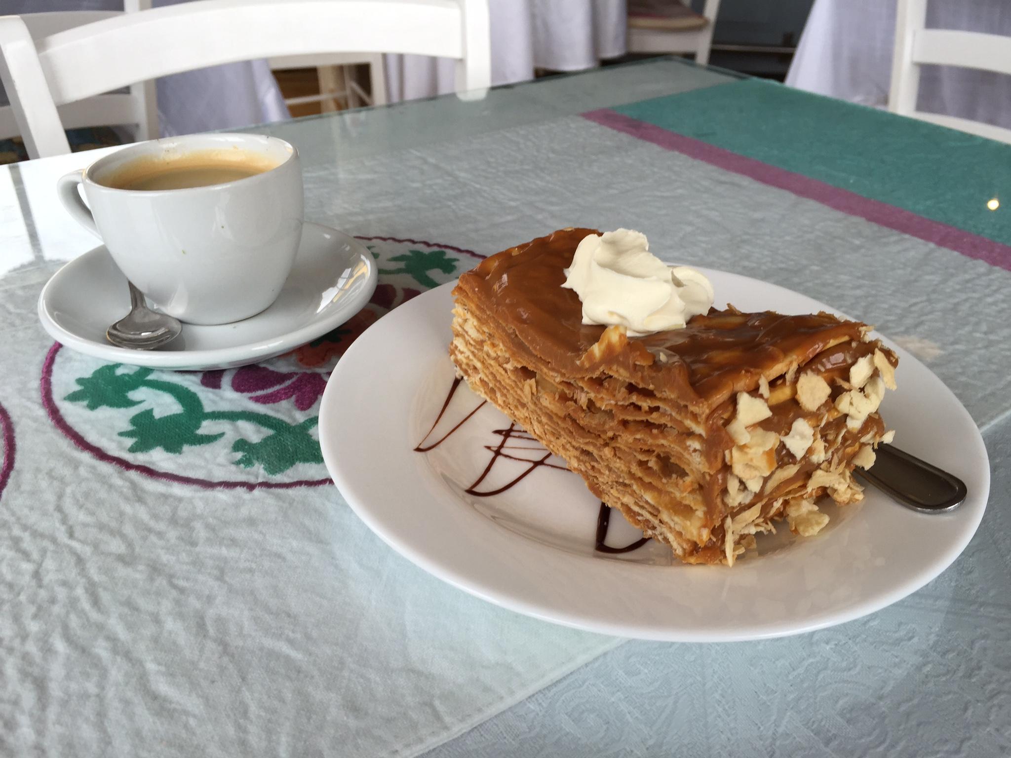 Yvonderweg - Eten in Chili - de lokale keuken - Milhojas