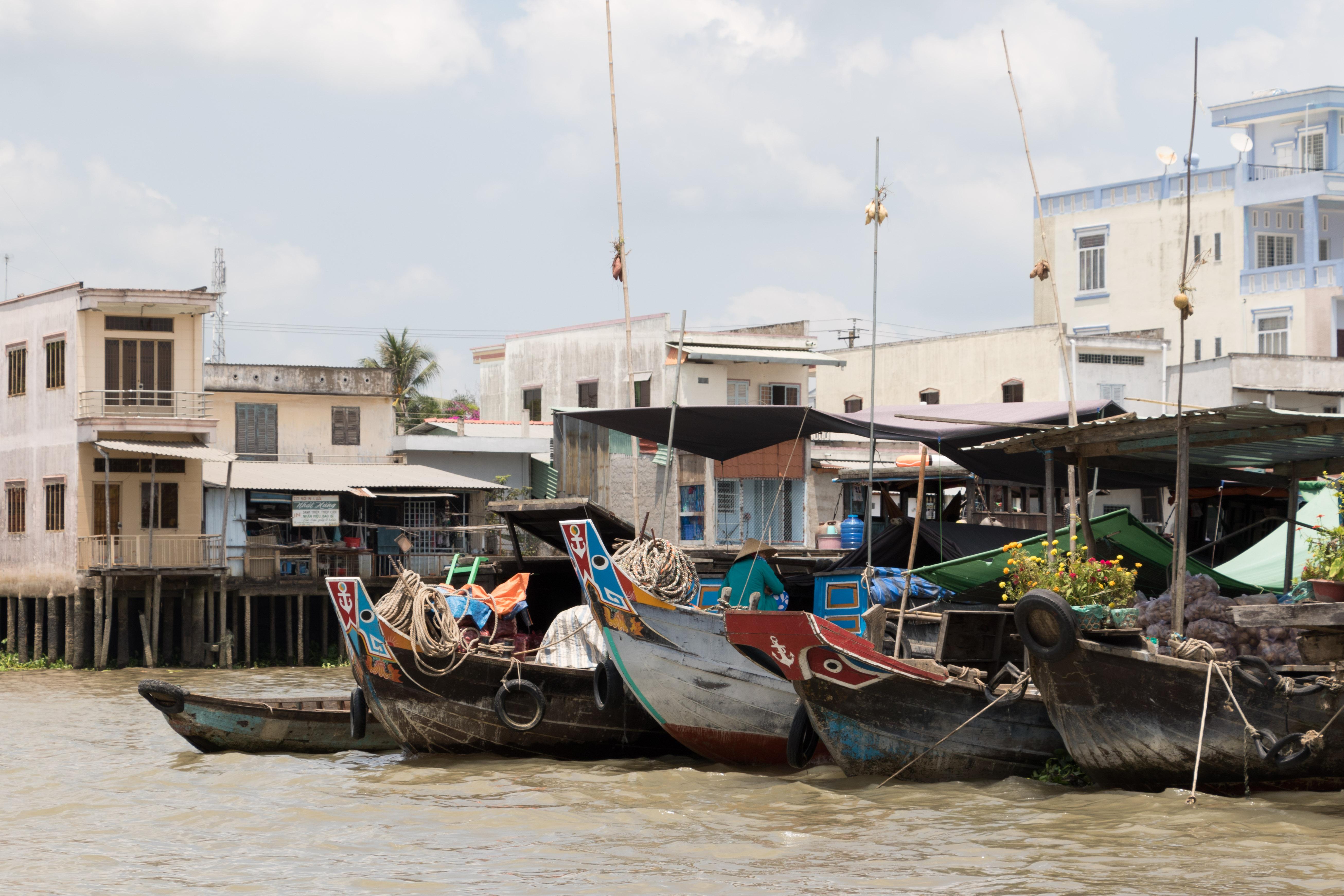 Yvonderweg - Hallo Ho Chi Minh! - De drijvende markt van Cai Be