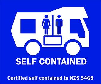 Yvonderweg - Hoe en wat in Nieuw Zeeland - Self-contained sticker