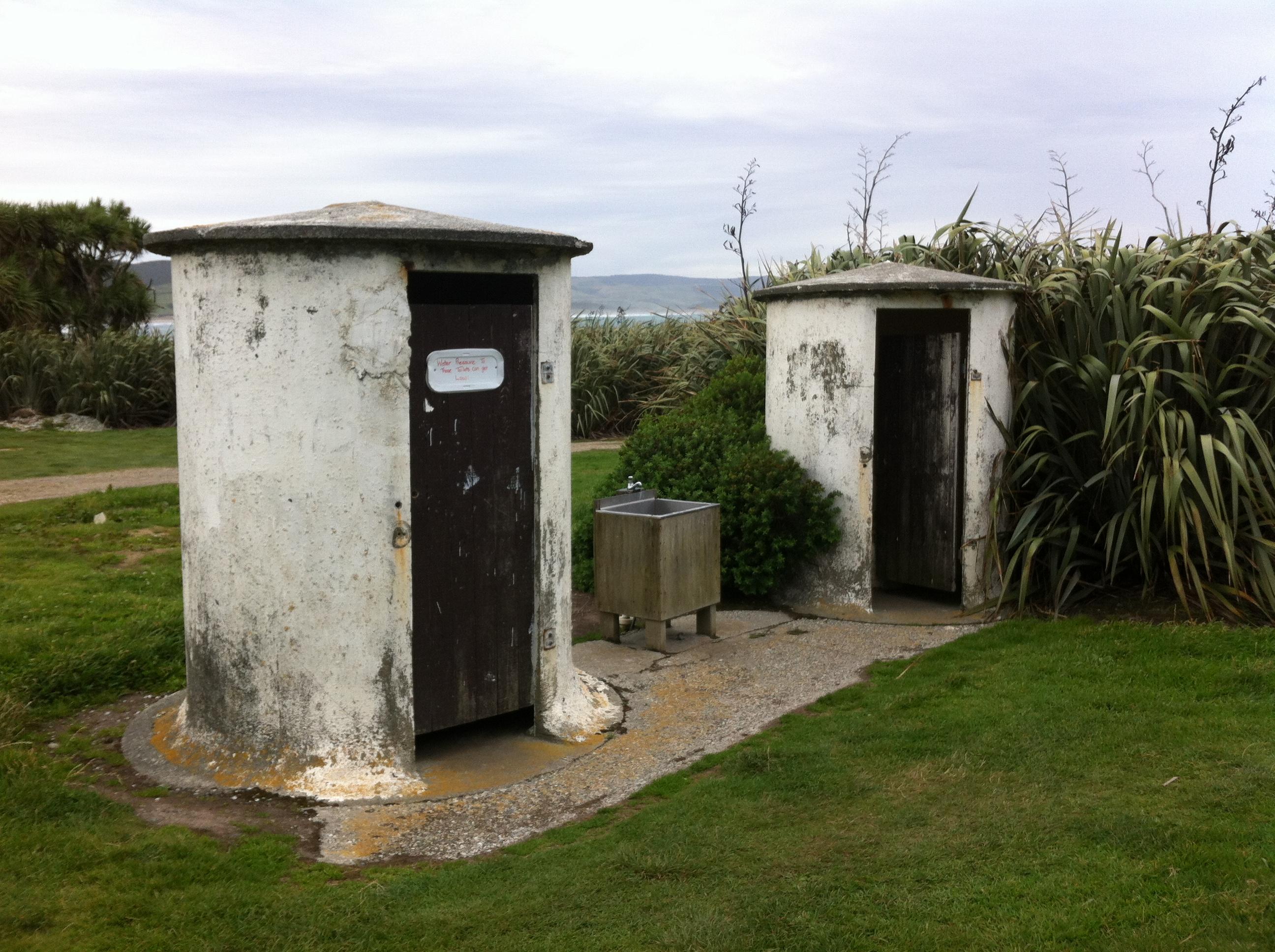 Yvonderweg - Hoe en wat in Nieuw Zeeland - Toilet