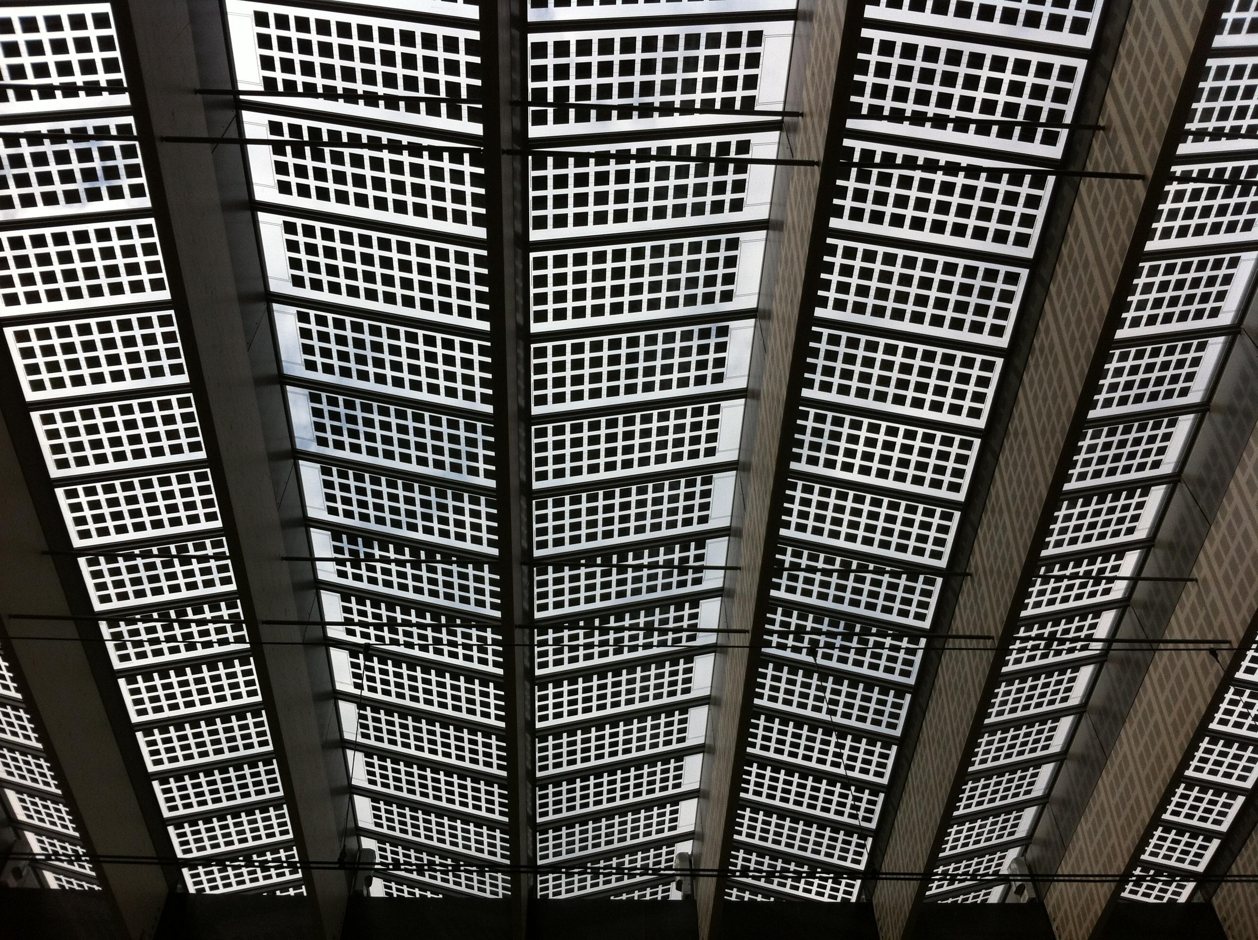 Centraal Station Rotterdam plafond