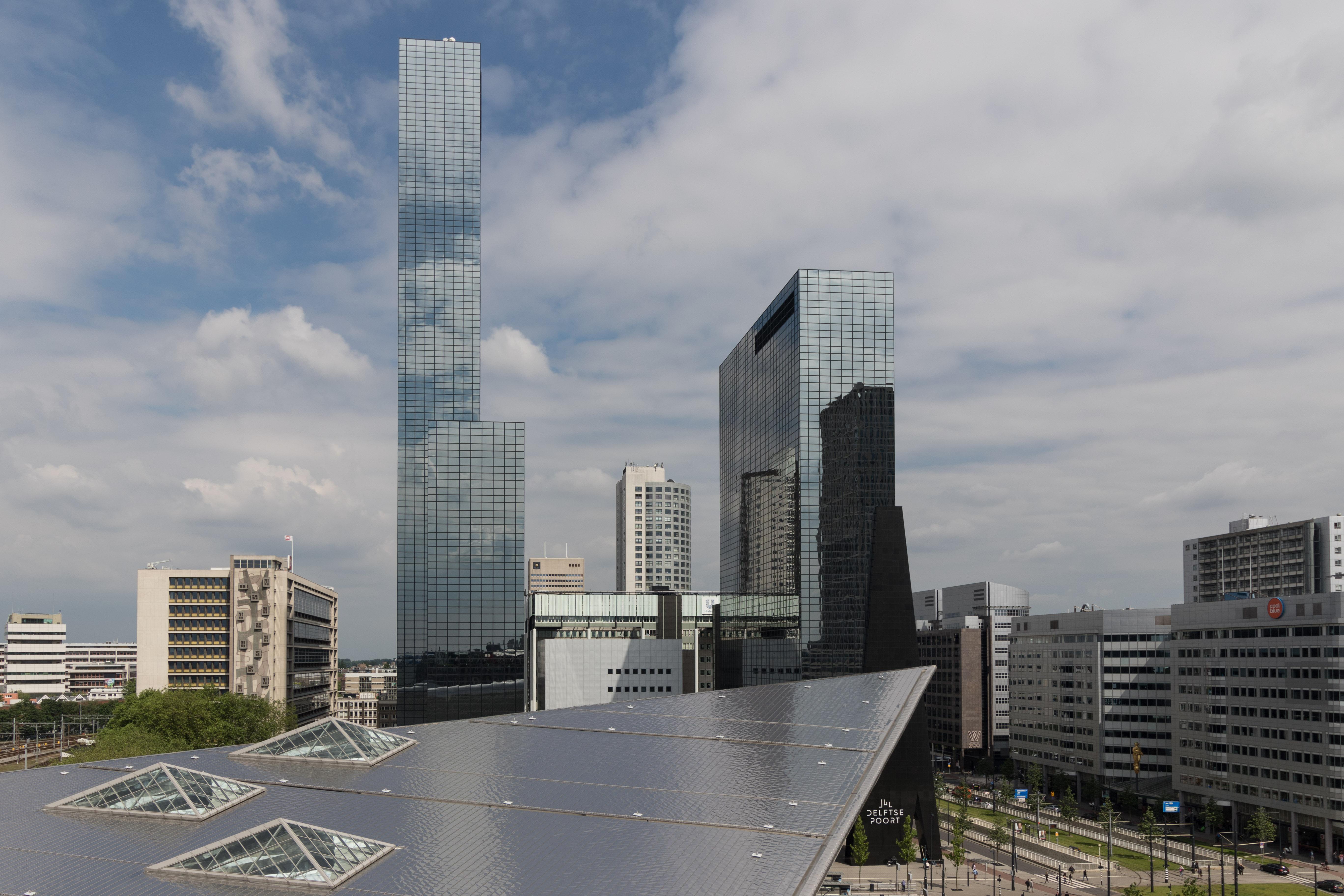 Uitzicht vanaf Groothadelsgebouw Rotterdam