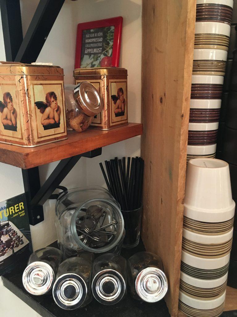 Flexwerken in Granna met koffie en thee.
