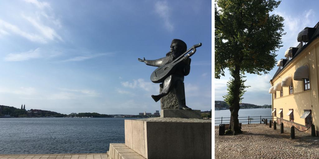 Rondlopen door Gamla Stan Stockholm.