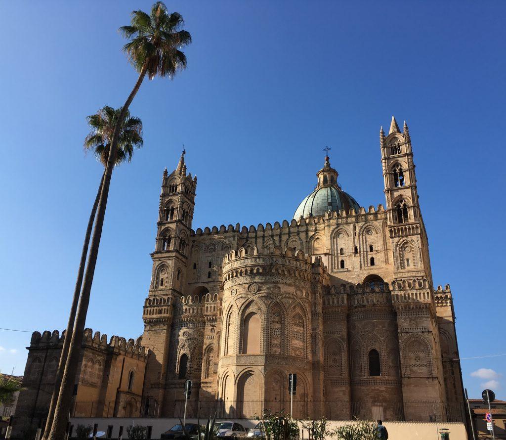 De kathedraal van Palermo