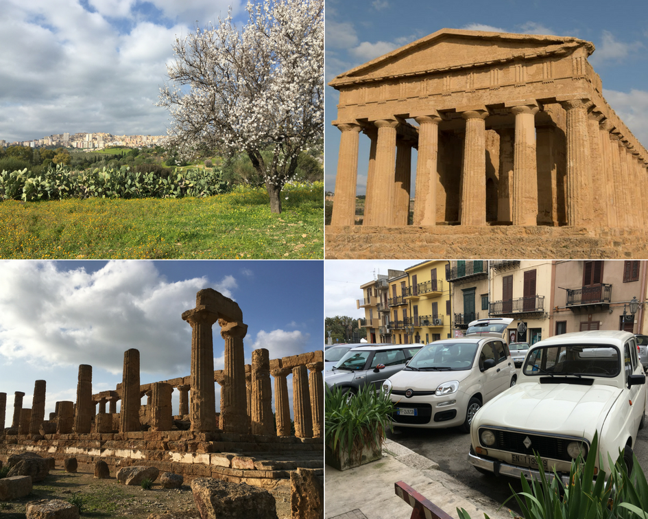 Bezoek aan de Valle dei Templi in Agrigento.