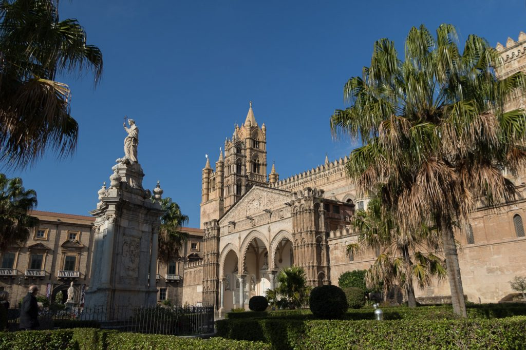 De kathedraal van Palermo.
