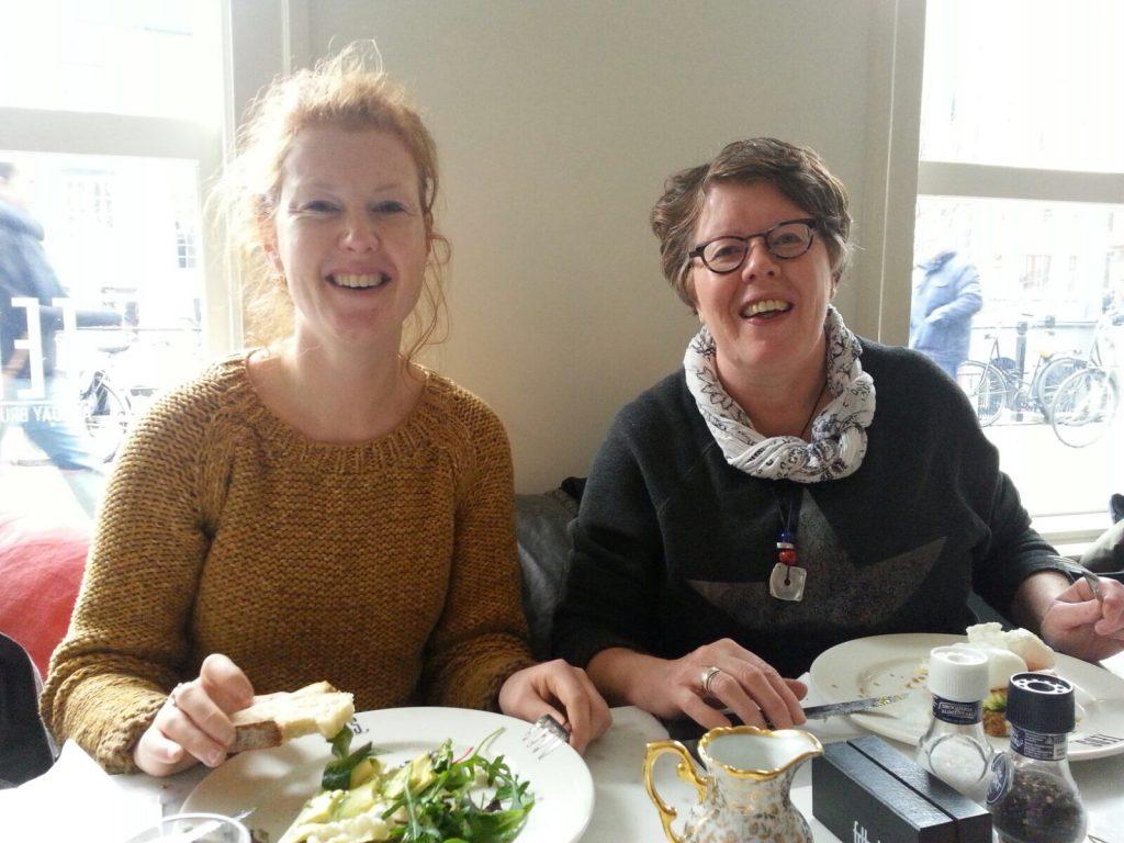 Lunchen met mijn moeder, zus en schoonzus bij Teds All Day Brunch in Utrecht.