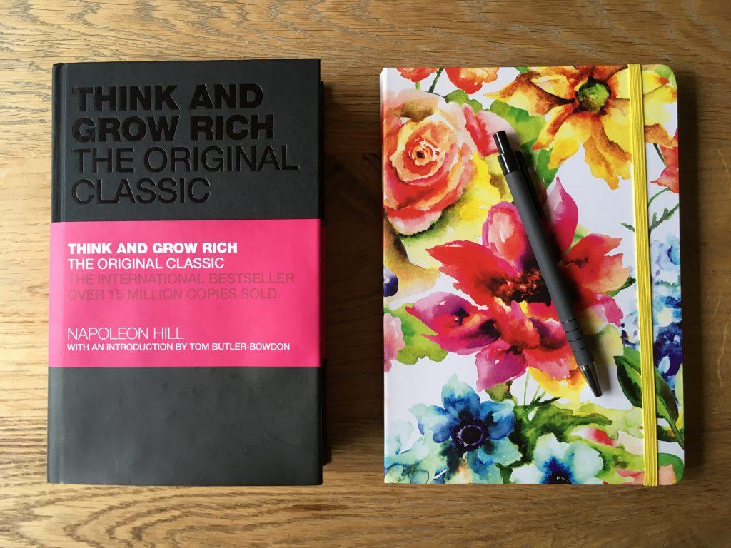 Boek Think and Grow Rich van Napeleon Hill