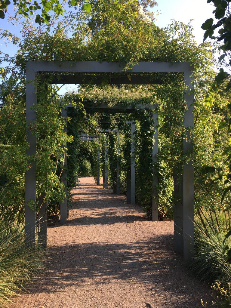 Doorkijkje in de botanische tuinen