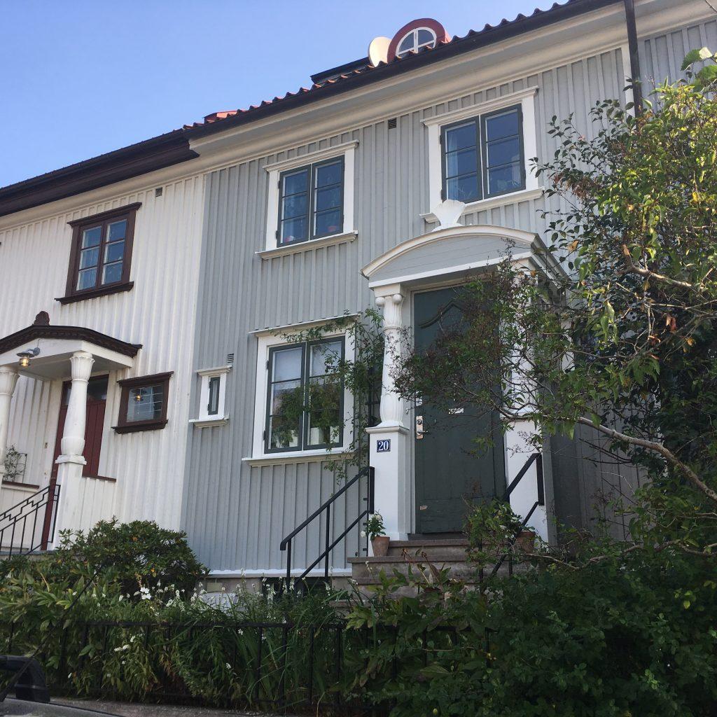 Huis in een buitenwijk van Goteborg